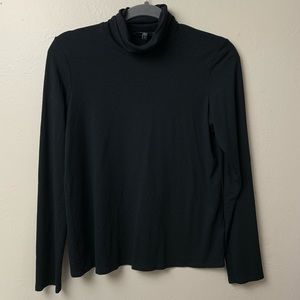 Eileen Fisher Long Sleeve Turtleneck Top Shirt